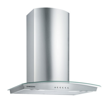 Samsung H1115xW600xD490 Chimney Hood - Stainless Steel and Glass - HC6347BG/XEU