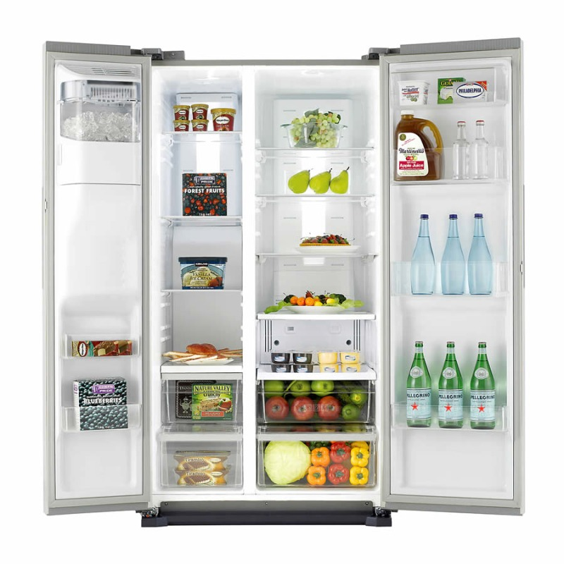 Samsung H1789xW912xD712 American Style Freestanding Fridge Freezer - RS7667FHCSL/EU additional image 3