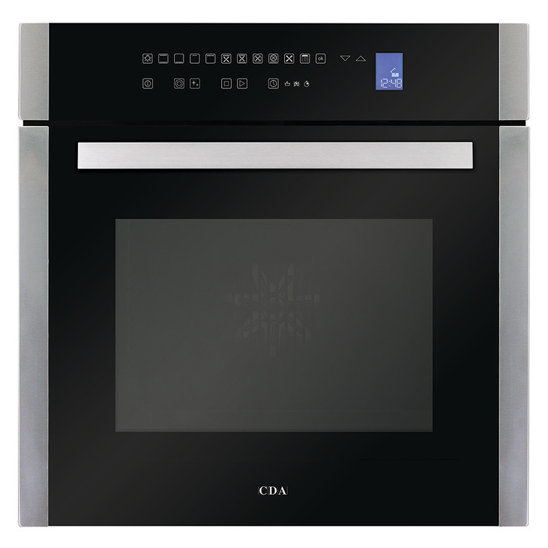 CDA H594xW597xD570 Single Multi-Function Oven - Stainless Steel primary image