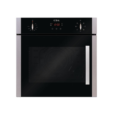 CDA H595xW595xD564 Single Multi-Function Side Opening Oven - Stainless Steel - SC620SS