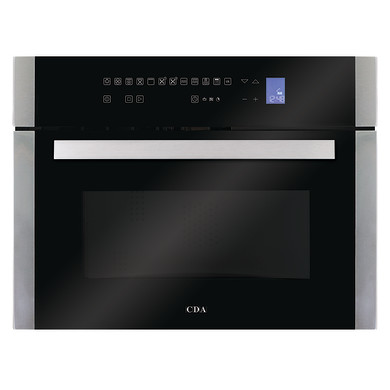 CDA H445xW597xD553 Compact Combi Microwave - Stainless Steel