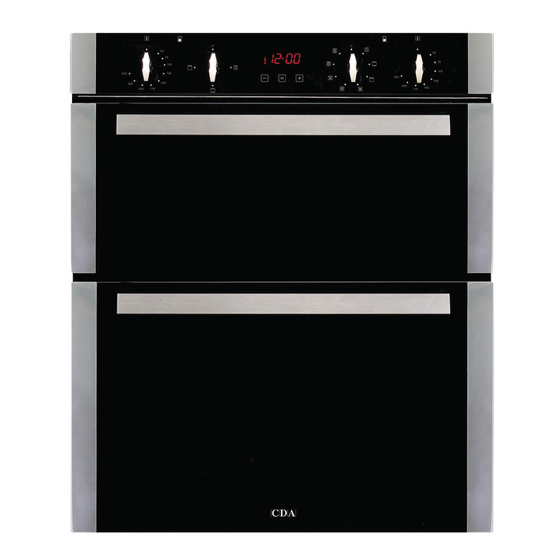 CDA H718xW595xD564 Built Under Electric Double Oven - Stainless Steel primary image