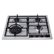 CDA H43xW580xD500 Gas Hob 4 Burner - Stainless Steel - HG6350SS