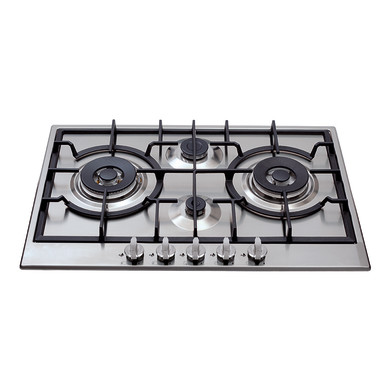 CDA H49xW750xD510 Gas Hob 4 Burner - Stainless Steel