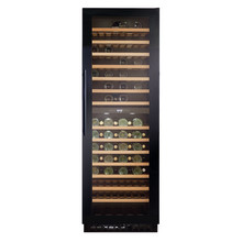 CDA H1768xW595xD615 Full Height Freestanding Wine Cooler - Black