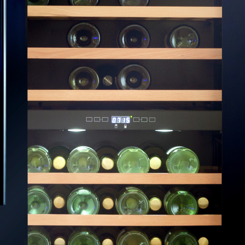 CDA H1768xW595xD615 Full Height Freestanding Wine Cooler - Black - FWC860BL additional image 1