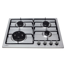 CDA H43xW580xD500 Gas Hob 4 Burner - Stainless Steel