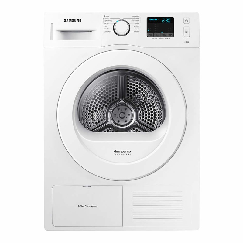 Samsung H850xW600xD600 7Kg Condensing Dryer - White primary image