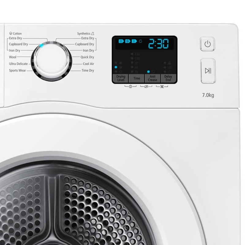 Samsung H850xW600xD600 7Kg Condensing Dryer - White additional image 2