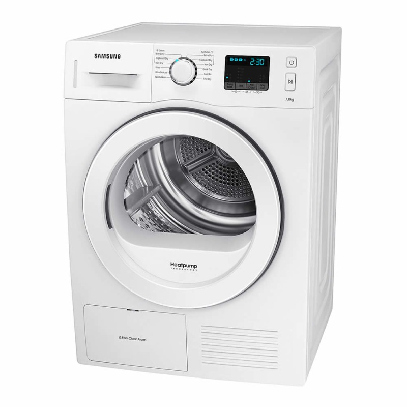 Samsung H850xW600xD600 7Kg Condensing Dryer - White additional image 3