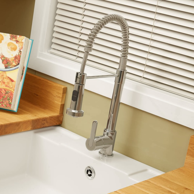Venus Tap Brushed Nickel - High Pressure Only additional image 1