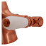 Fortuna Tap Copper with White Handles - High/Low Pressure additional image 2