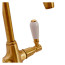 Fortuna Tap Bronze with White Handles - High/Low Pressure additional image 5