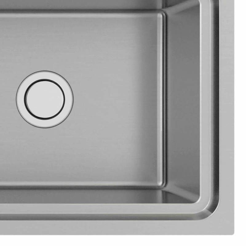510x1000 Hudson 1.0 Bowl Sink LHD S/Steel additional image 1
