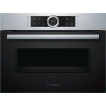 Bosch H454xW595xD563 Microwave Oven - Stainless Steel