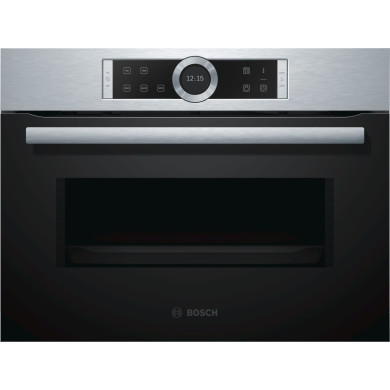 Bosch H454xW595xD563 Microwave - Stainless Steel