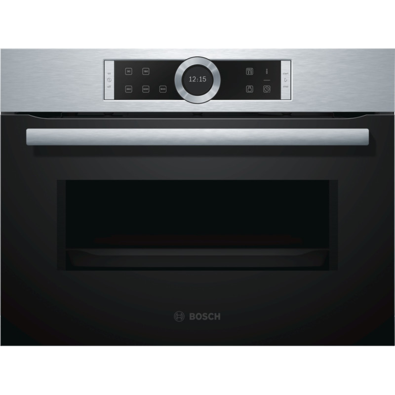 Bosch H454xW595xD563 Microwave - Stainless Steel primary image