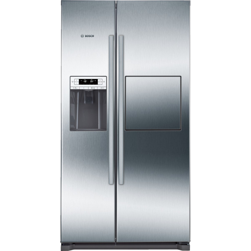 Bosch H1770xW910xD720 Side by Side Fridge Freezer - Stainless Steel - KAG90AI20G primary image