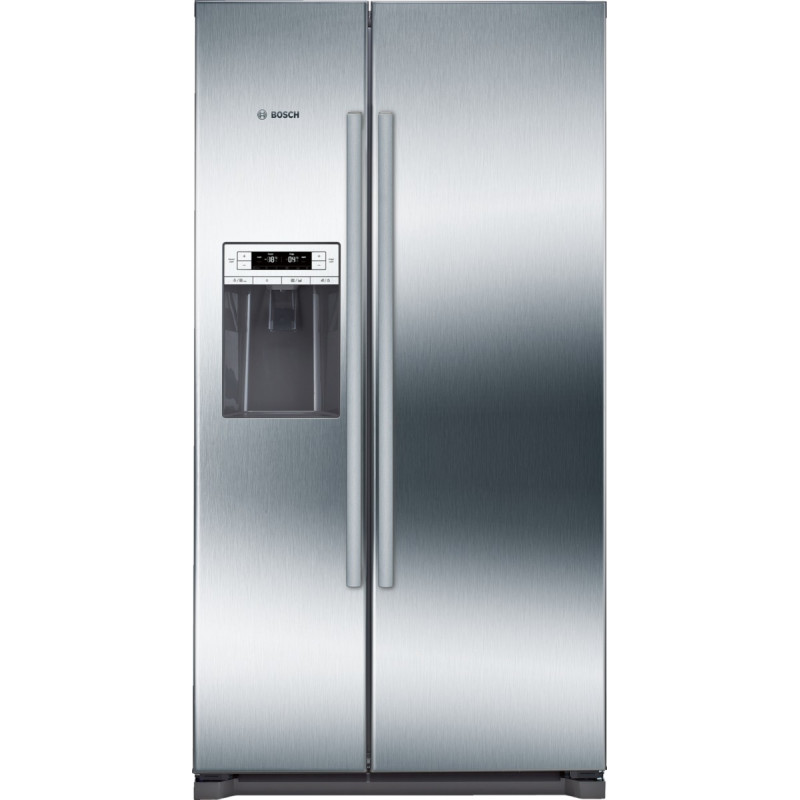 Bosch H1770xW910xD720 Side by Side Fridge Freezer - Stainless Steel - KAD90VI20G primary image