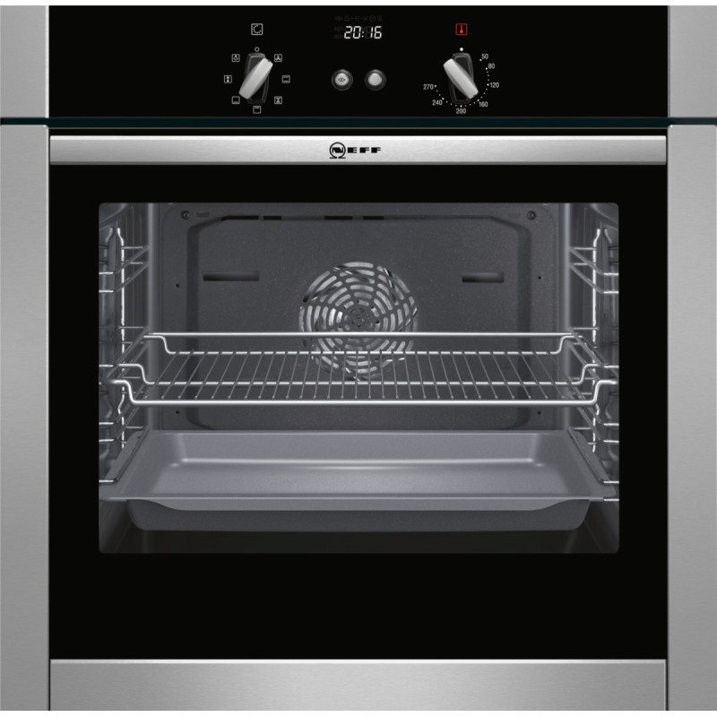 Neff H595xW595xD550 Single Multifunction Oven - Stainless Steel - B44M42N5GB primary image