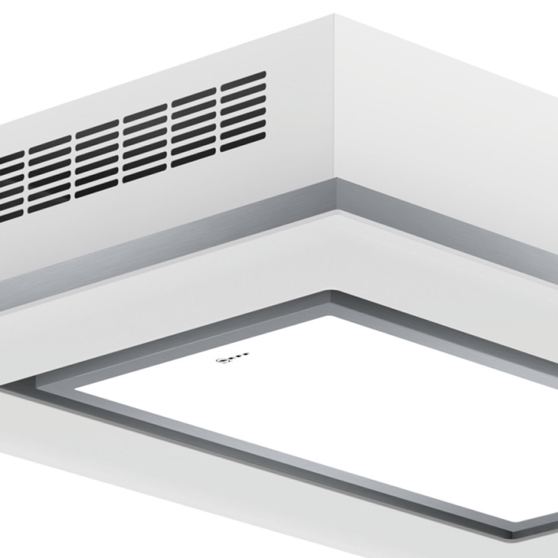 Neff H245xW1000xD700 Ceiling Extractor - White Glass - I90CN48W0 additional image 1