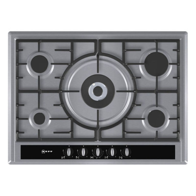 Neff H45xW702xD520 Gas 5 Burner Hob - Stainless Steel primary image