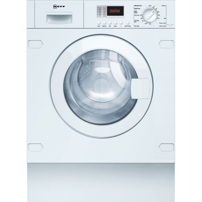 H820xW595xD550 Built in  Washer Dryer primary image
