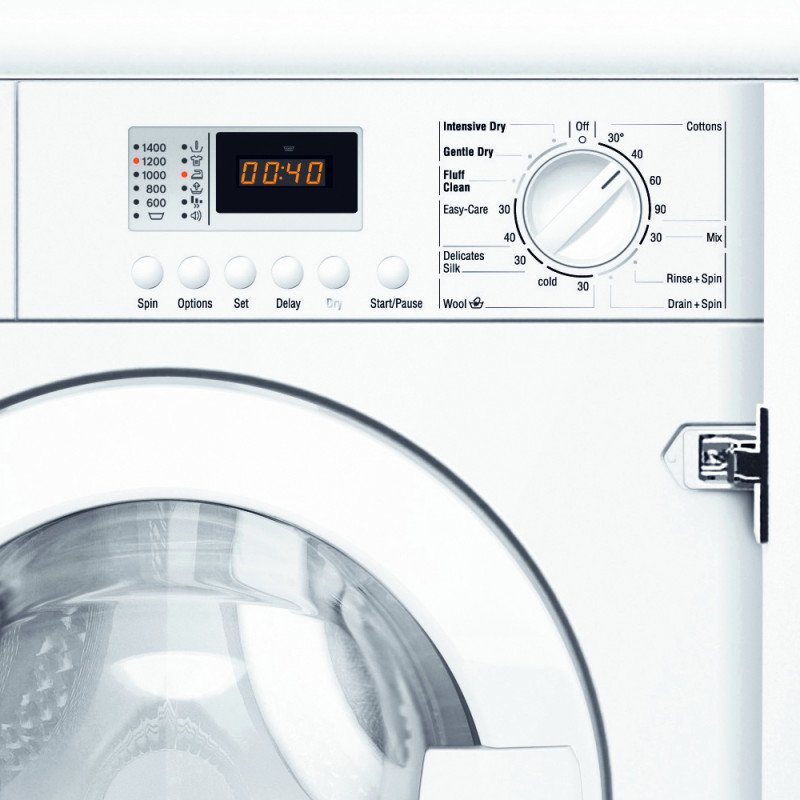 H820xW595xD550 Built in  Washer Dryer additional image 1