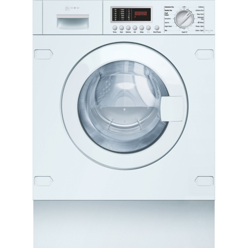 Neff H820xW595xD550 Intregrated Washer Dryer primary image