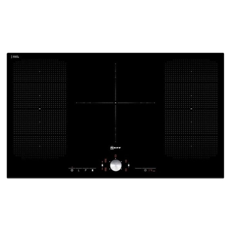 Neff H51xW918xD546 Induction 5 Zone Hob - Black Glass - T51T95X2 additional image 1