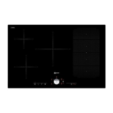 Neff H51xW802xD522 Induction 4 Flexi Zone Hob - Black Glass - T51T86X2