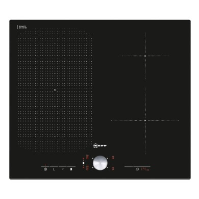 Neff H51xW592xD522 FlexInduction 4 Zone Hob - Black Glass