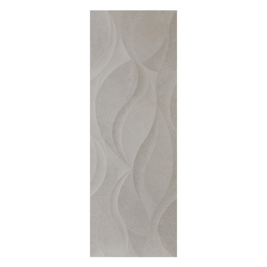 Danubio Vosgos Grey Matt Decor Wall Tile 320x900x10mm (1.15sqm per box)