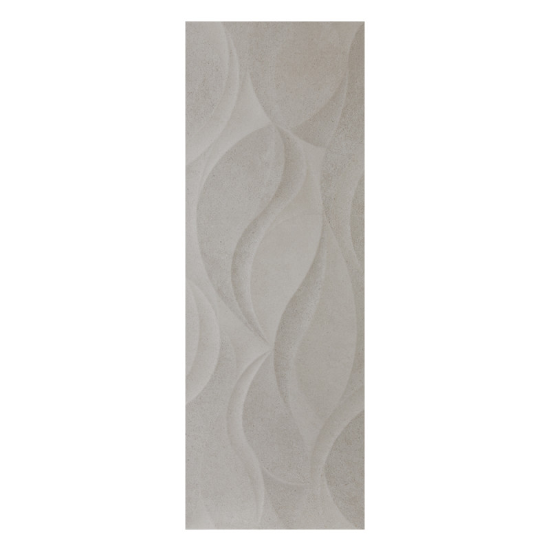 Danubio Vosgos Grey Matt Decor Wall Tile 320x900x10mm (1.15sqm per box) primary image