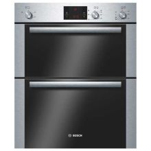 Bosch H717xW595xD550 Built Under Electric Double Oven - Stainless Steel