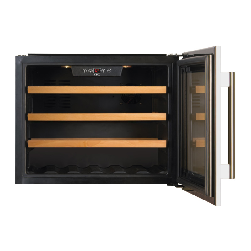 CDA H455XWX592XD563 Intregrated Compact Wine Cooler additional image 1