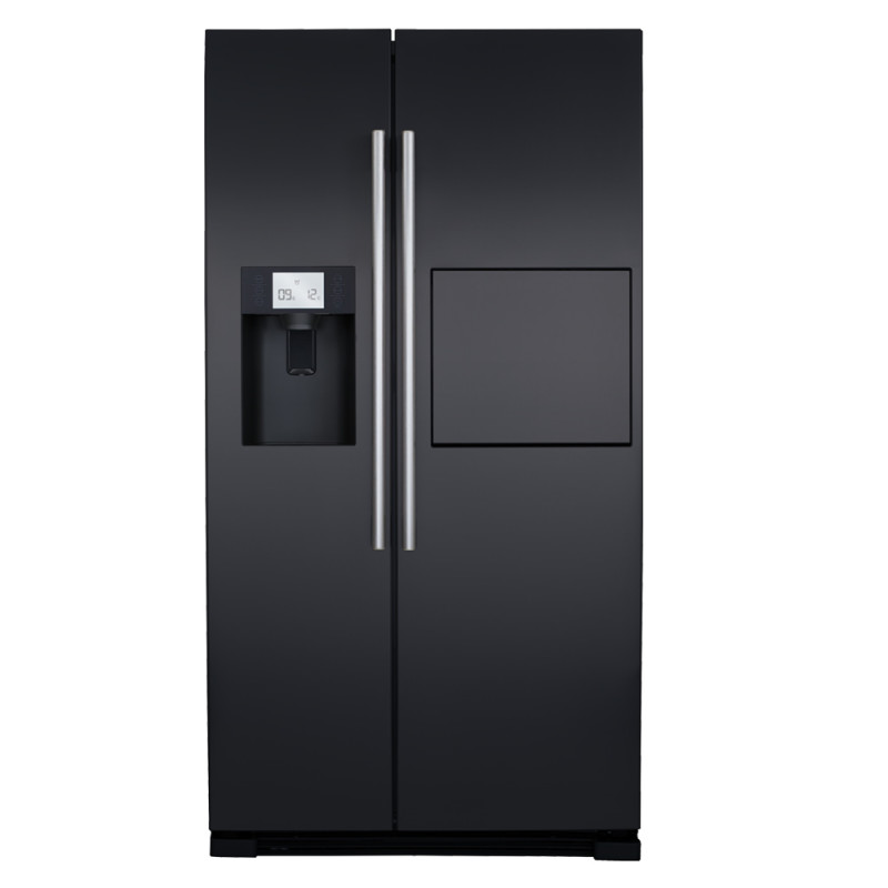H1820XW908XD690 Side by side American style fridge freezer - PC71BL primary image