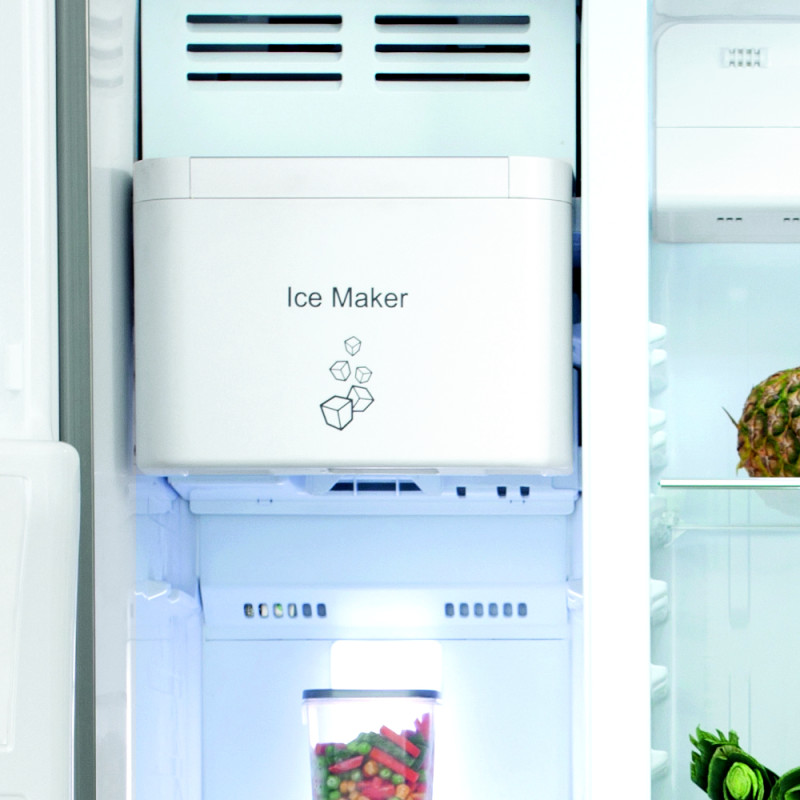 H1820XW908XD690 Side by side American style fridge freezer - PC71BL additional image 4