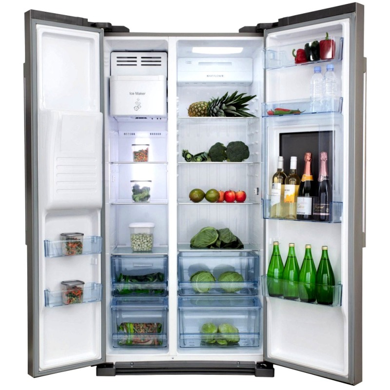 H1820XW908XD690 Side by side American style fridge freezer - PC71SC additional image 1