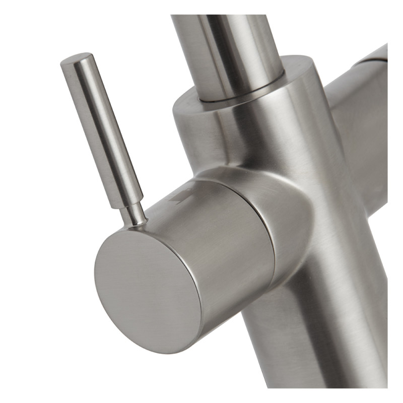Insinkerator 3N1 Swan Neck Hot Water Tap Brushed Steel additional image 7