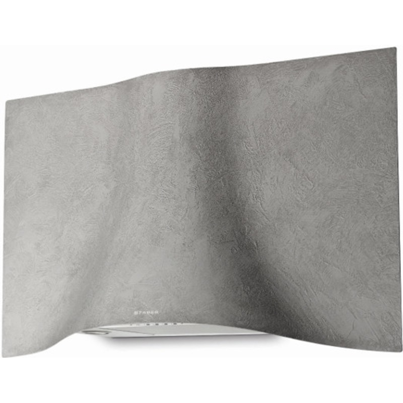 Faber H573xW898xD361 Veil Wall Mounted Cooker Hood - Concrete primary image