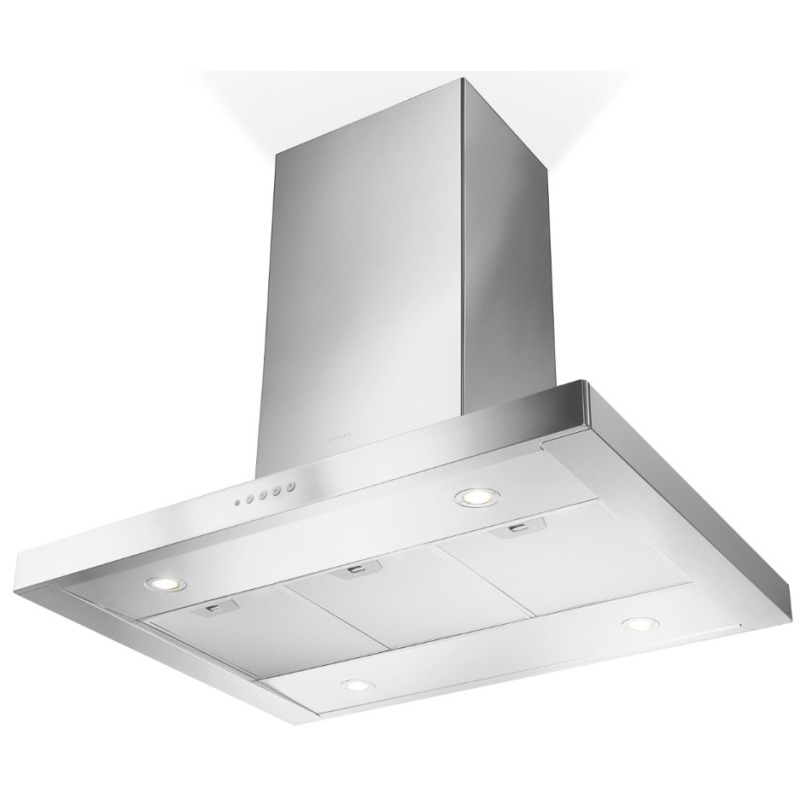 Faber H760xW900xD600 Stilo Isola Island Hood - Stainless Steel primary image