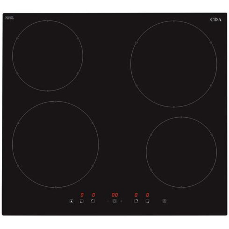CDA  H55xW576xD518 4 Zone Induction Hob - HN6111FR primary image