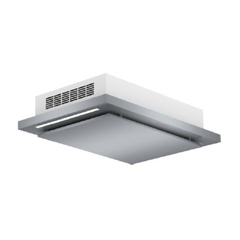 Bosch H243xW1000xD700 Brushed Steel Ceiling Hood primary image