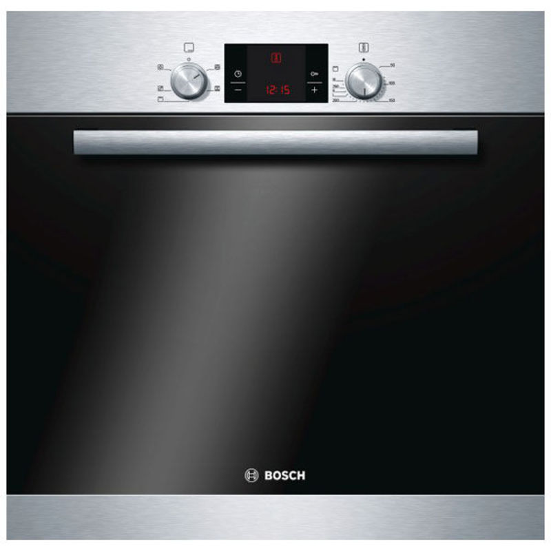 Bosch H595xW595xD548 Built-in Electric Single Fan Oven - Stainless Steel primary image