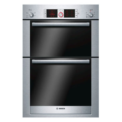 Bosch H888xW595xD550 Built-In Electric Double Multi-Function Oven - Stainless Steel