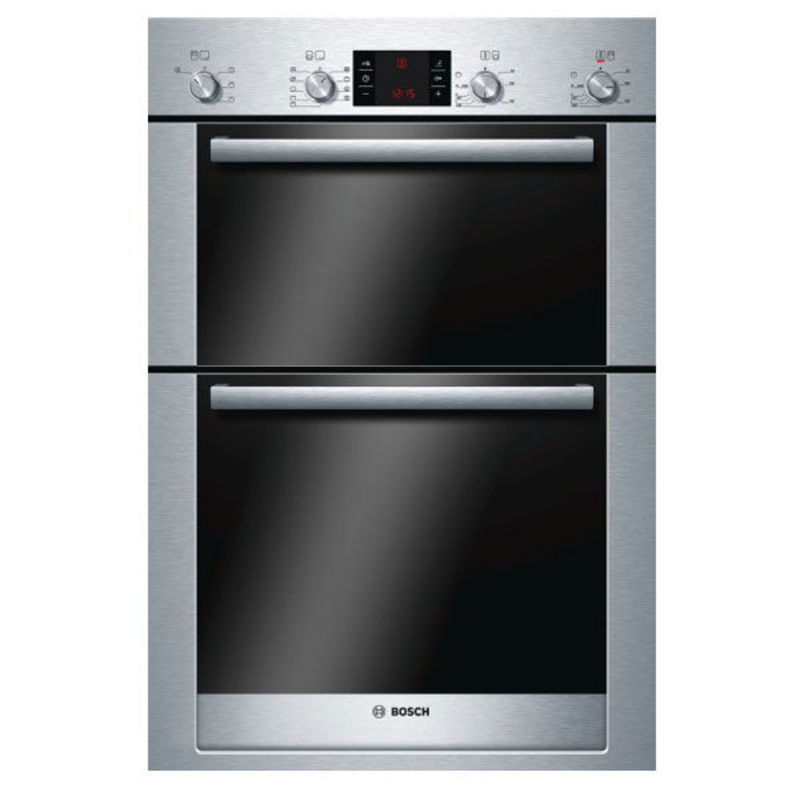 Bosch H888xW595xD550 Built-In Electric Double Multi-Function Oven - Stainless Steel primary image