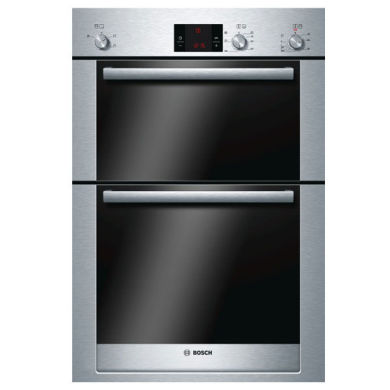 Bosch H888xW595xD550 Electric Double Oven - Stainless Steel