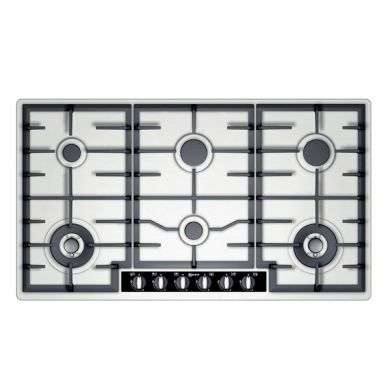 Neff H45xW915xD520 Gas 6 Burner Hob - Stainless Steel