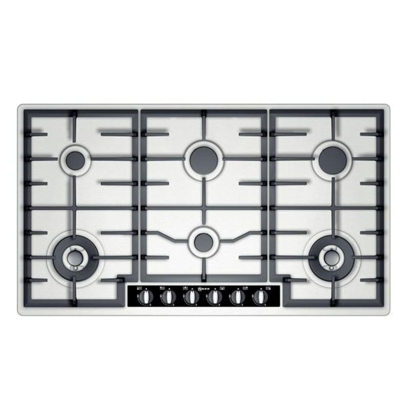 Neff H45xW915xD520 Gas 6 Burner Hob - Stainless Steel primary image